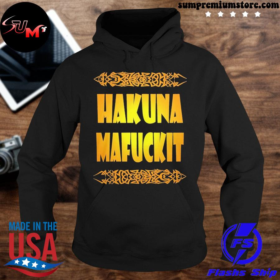 Official hakuna mafuckit s hoodie-black