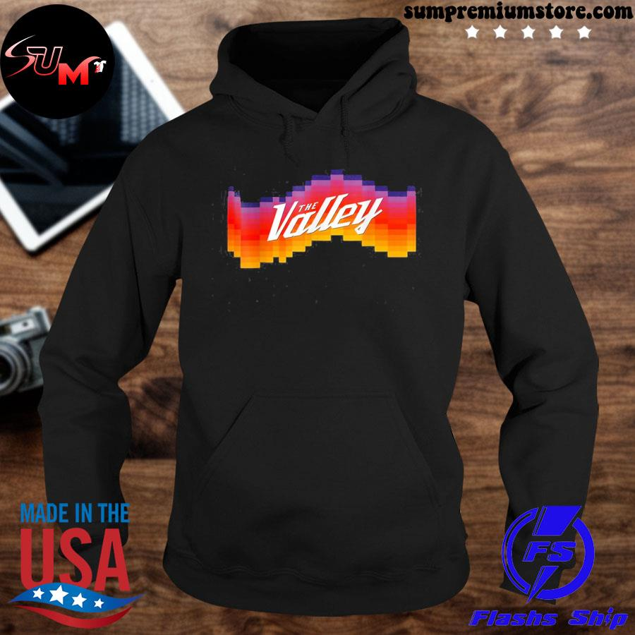 Official phoenixes suns maillot the-valley-city us 2021 s hoodie-black