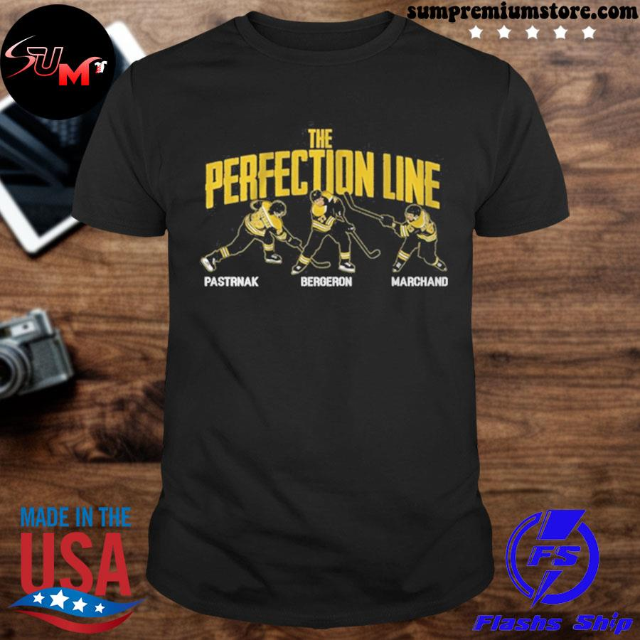 Pastrnak bergeron and marchand perfection line 2021 shirt