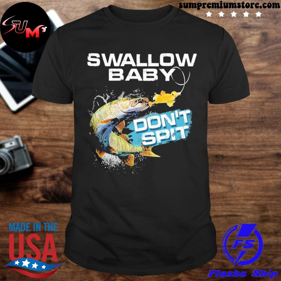 Pike swallow swallow baby don't spit ugly Christmas sweater