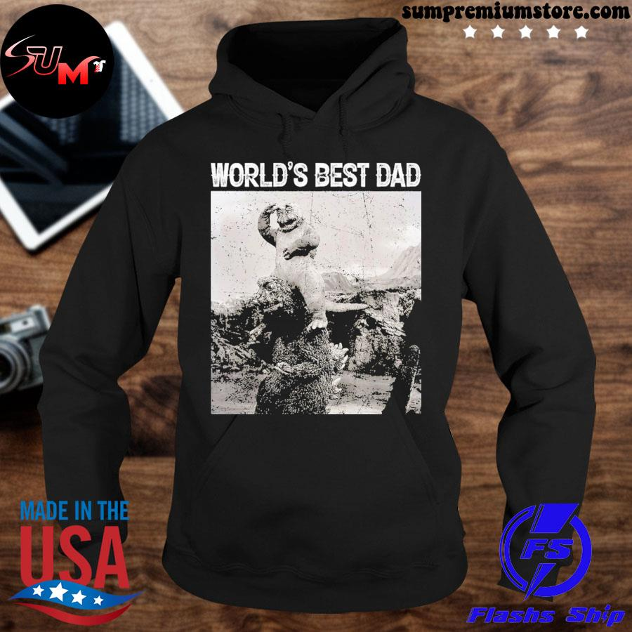Son of godzilla world's best dad s hoodie-black