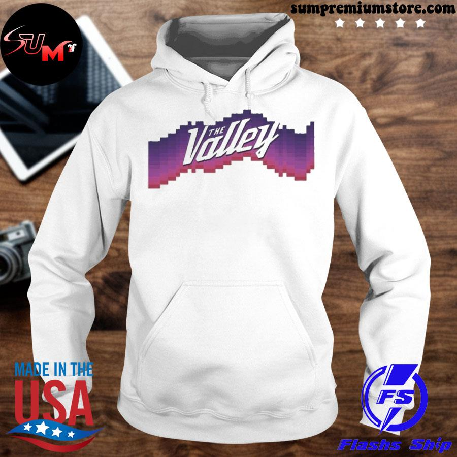 Suns valley alternate ugly Christmas sweater hoodhie-white