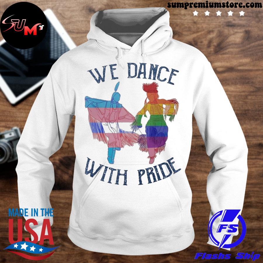 We dance with pride premium s hoodhie-white
