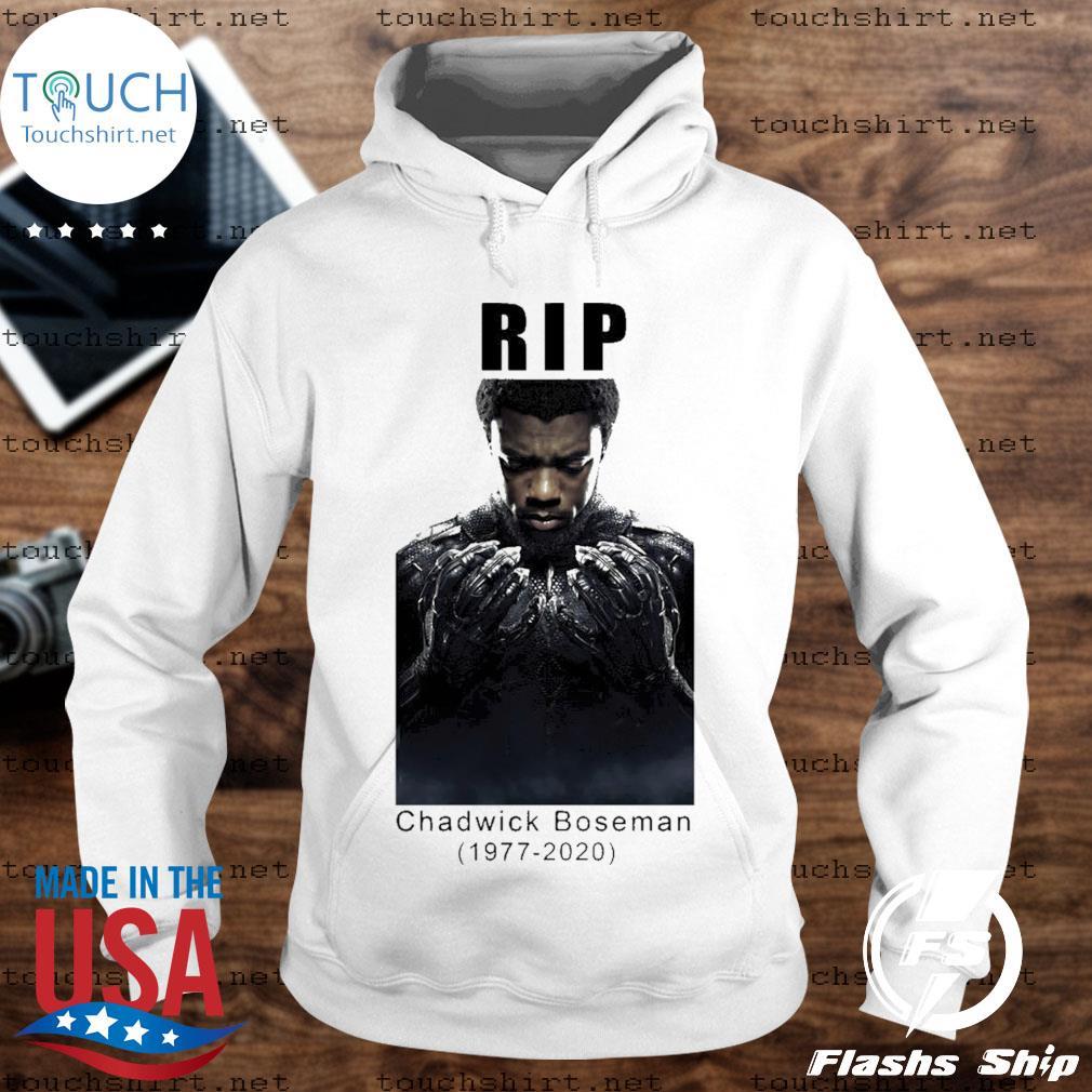 Chadwick Boseman rip 1977-2020 rest In peace s Unisex Hoodie